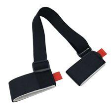 Adjustable-Ski Pole Shoulder Hand Carrier Lash Handle Straps Porter HookLoop HOT