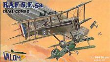 Valom 1/144 Model Kit 14404 RAF Royal Aircraft Factory SE.5A  Dual Combo