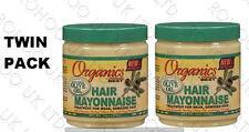 2 X AFRICA'S BEST ORGANICS HAIR MAYONNAISE TREATMENT FOR HAIRS 425g 16 OZ