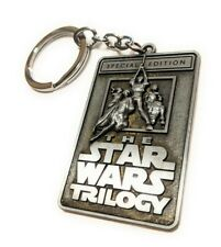 Star Wars Trilogy Convention special metal Keychain collectible cosplay force