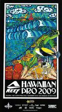 Mint Wsl 2009 Reef Hawaiian Pro Surfing Official Surf Surfboard Art Poster