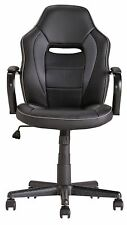 New other Mid Back Office Gaming Chair - Black-Gbl88.