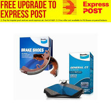 Bendix GCT Brake Pad and Shoe Set MITSUBISHI TRITON DB1223GCT-BS1759 fits Mit
