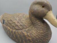 Vintage Duck Decoy General Fibre Ariduck 1950s Mallard Hen