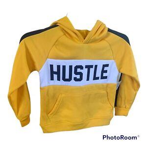 Boys Revolution Hustle Pullover Fleece Sweatshirt Hoodie Size 4