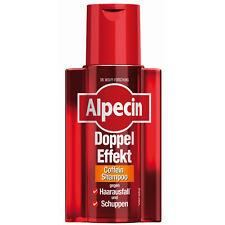 ALPECIN Double-Effect Caffeine Shampoo Hair Loss 200 ml, 6.8 oz
