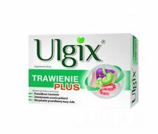 ULGIX Trawienie Plus 30 kaps układ pokarmowy wątroba żołądek cholesterol wzdęcia