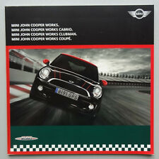 V24485 MINI JOHN COOPER WORKS - COACH CABRIOLET CLUBMAN COUPE -CATALOGUE - 02/01