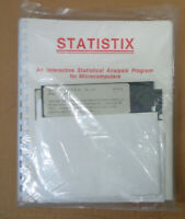 Statistix, by NH Analytical Software. Version 2.0, 1987. BRAND NEW