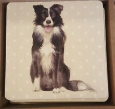 Dog lovers gift Border Collie Coaster