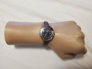 Vintage Tissot 38673-6X UFO 21 Jewels ETA 2651 Automatic Ladies Watch