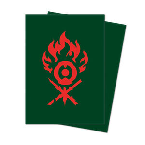 Magic The Gathering Guilds of Ravnica GRUUL Deck Protector Sleeves  (box)