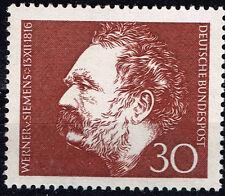 Germany Famous inventor and industrialist Werner von Siemens stamp 1976 MNH