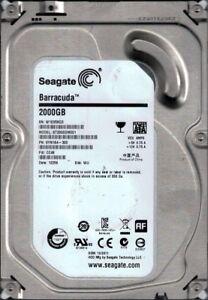 Seagate ST2000DM001 P/N: 9YN164-300 F/W: CC49 WU W1E 2TB