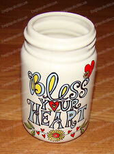 Bless you Heart, Mason Jar (Our Name is Mud, 4044323) Stoneware