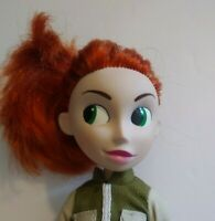 """Kim Possible Doll Disney Channel Orange Hair & Outfit Equity Marketing Co 10"""""""
