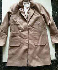 womens H&M wool coat size uk 8 eur 34
