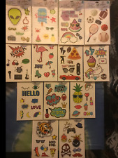 POP SHOP Mobile Accessory 8 Stickers Each Large For Computer, Phone & Tablets