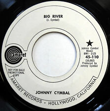 JOHNNY CYMBAL country PROMO near-Mint 45 Big River / Girl From Willow County d49