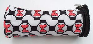 EUC Mint Disney Baby Minnie Mouse Zippered Insulated Bottle Bag Carrier Holder