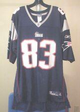 New England Patriots NFL Reebok Blue Wes Welker #83 XL Jersey