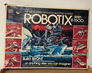 Vintage 1984 Robotix Series R-1500 Motorized INCOMPLETE