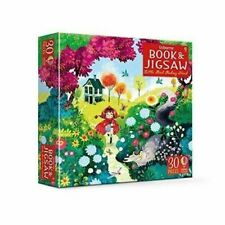 More details for usborne book and jigsaw little red riding hood by rob lloyd jones