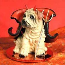 Shar Pei Cream Devil Dog Tiny One Figurine Statue