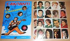 ED.RITMO ALBUM FIGURINE  CANTANTI DI SUCCESSO CPL RISTAMPA ANASTATICA !!!!