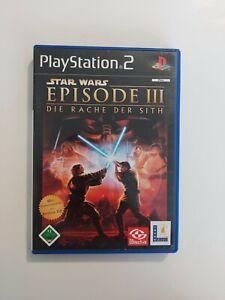 Star Wars: Episode III - Die Rache der Sith (Sony PlayStation 2, 2005, DVD-Box)