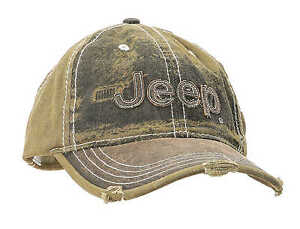 Jeep Cap Kappe Basecap Heavy Stone washed Olive GREEN