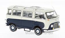Ford Taunus Transit Panoramabus 1962 - dunkelblau/weiss 1:43 NEO 46695 >>NEW<<