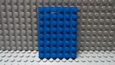 LEGO Blue 6x8 Plate 10177 10176 21144 6090 7743 7599 60046 7986