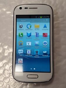 Boost Mobile Samsung Galaxy Prevail 2 SPH-M840 White Android 4.1 Good Condition