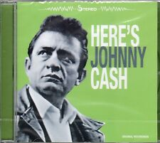 Johnny Cash Here's Johnny Cash New Factory Sealed Import Country CD