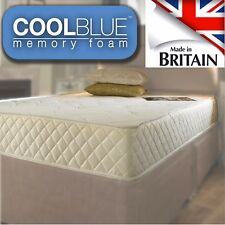 Cool Blue Pocket Core 1500 Memory Foam Mattress 3ft 4ft6 Double 5ft Matress