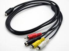 AV/TV Out Video Cable For Sony DCR-DVD210E DCR-DVD202E DCR-DVD203E DCR-DVD304E