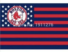 Boston Red Sox 3x5 Ft American Flag Baseball New In Packaging