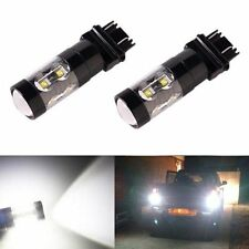 JDM ASTAR 2x 50W 3157 3156 White LED Car Turn Signal Brake Tail Stop Lights Bulb