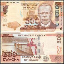 Malawi 500 Kwacha, 2013, P-61b, UNC