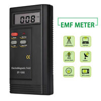 New Electromagnetic Radiation Detector Digital LCD EMF Meter Dosimeter Tester