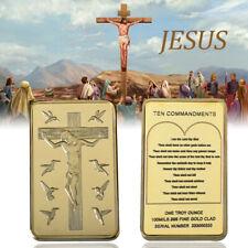 Engraved Fine Silver Jesus Silver As Souvenir Bullion Creative Crafts Gift
