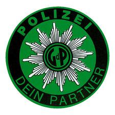Aufkleber GdP Gewerkschaft der Polizei Polizeistern Windschutzscheibe Sticker