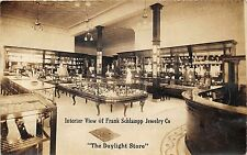 "Des Moines Iowa~""The Daylight Store""~Frank Schlampp Jewelry Co Interior~'10 RPPC"