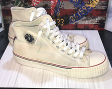 PF Flyers Unisex Center Hi Shoes White M 9 W 10.5 Super Clean 😀 FREE SHIPPING