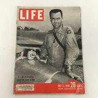 VTG Life Magazine July 17 1950 U.S. Jet Pilot After Shooting Down A Yak