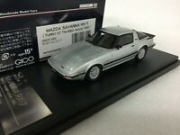 1/43 HI STORY HS073SP2 MAZDA SAVANNA RX7 TURBO GT IMSA SPECIAL model car 1985
