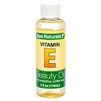Spa Naturals Vitamin E Beauty Oil Smoother Softer Skin 4 ounces Ship from USA