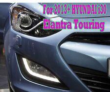 Fog Light LED DRL + Cover + Short wiring (Fit 2011+ HYUNDAI i30 Elantra Touring)