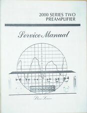 PHASE LINEAR PL 2000 Series II PREAMPLIFIER SERVICE MANUAL 26 Pages